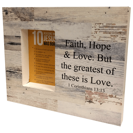 10 Reasons Why Jesus Was Born Gift Frame